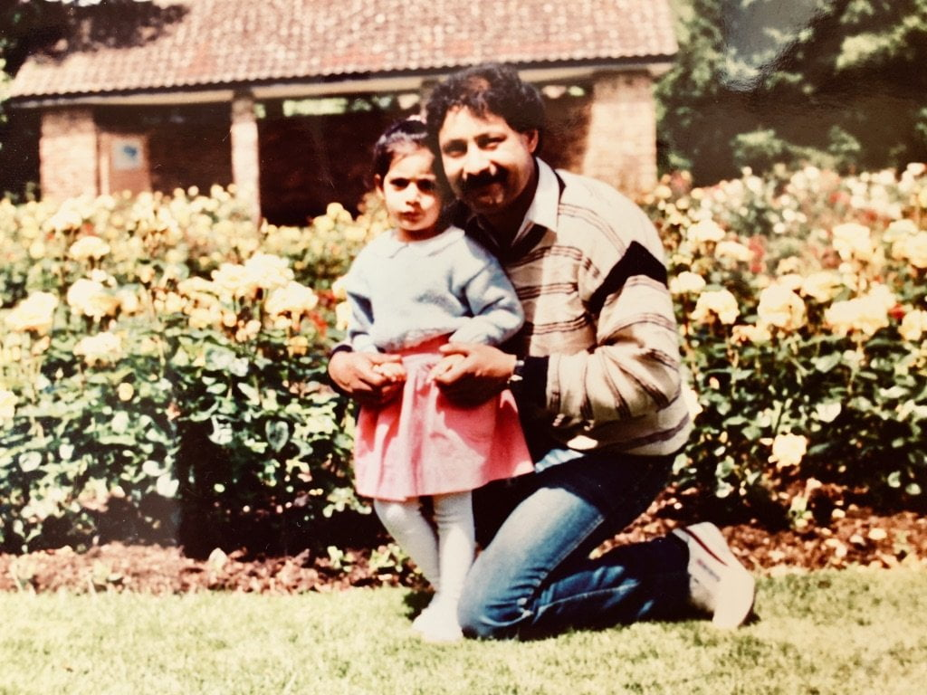 Seena and her father