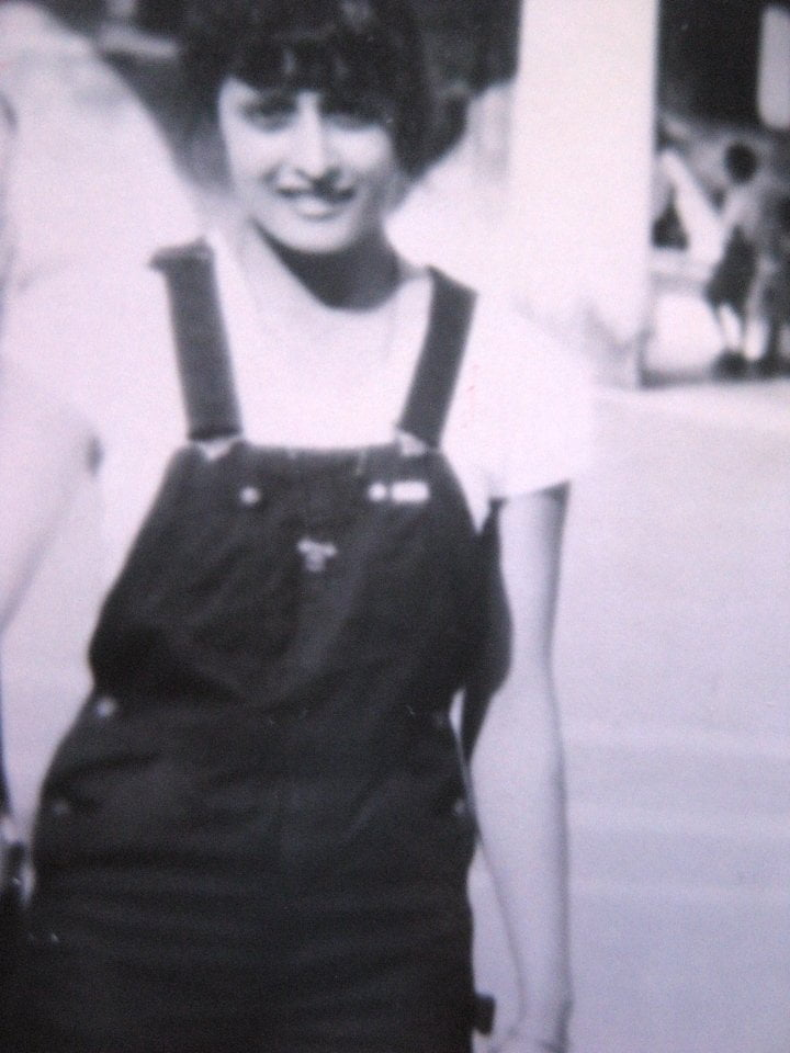 Nutan as young woman