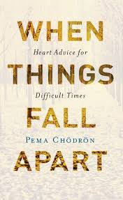 When Things Fall Apart by Pema Chodron book cover