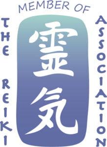 Membership of the Reiki Association Logo.