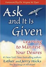 Ask and it is Given by Esther and Jerry Hicks book cover.