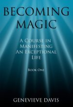 Becoming magic book cover by Genevieve Davis